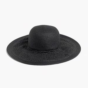 NWT J. Crew Textured Summer Straw Hat